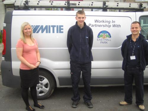 Easthall Park Mitie Apprentice