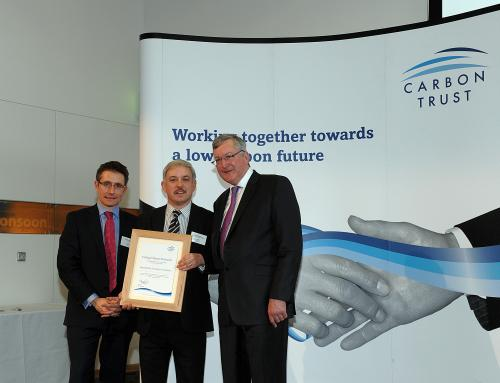 Carbon Trust award with Fergus Ewing MSP
