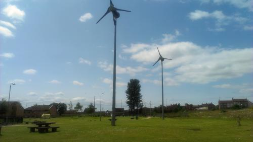 Easthall Park Wind Turbines