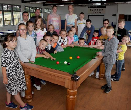 Easthall school summer programme 2014