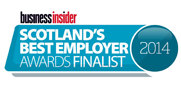 Scotlands Best Employer 2014 Finalist Logo