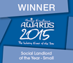 Winner Social Landlord of the Year